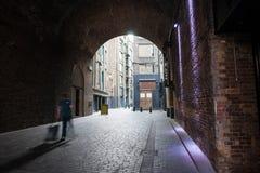 A través del túnel. imagen de archivo