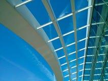 A través del tejado Foto de archivo