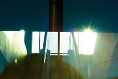 A través del vidrio 3 Imagen de archivo libre de regalías