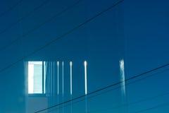 A través del vidrio 1 Imagen de archivo