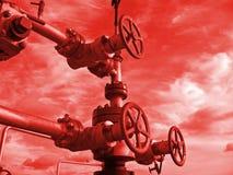 Trava do petróleo fotografia de stock