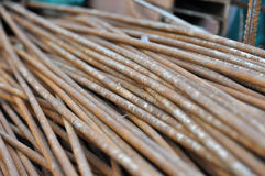 trava rostigt stål Royaltyfri Foto