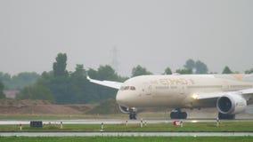 Travagem de Etihad Boeing 787 Dreamliner filme