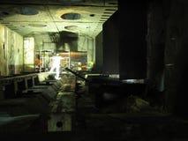 Travail à l'intérieur du four Photographie stock libre de droits