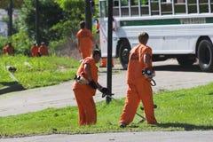 Travail 1 de prisonnier photo libre de droits