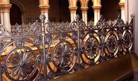 Travail conçu classique de fabrication dans le palais de Bangalore photo stock