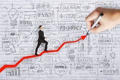 Travail d'équipe, économie et concept de finances Photo libre de droits