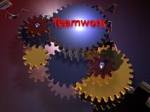 Travail d'équipe - 3D Photo stock