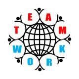 travail d'équipe illustration libre de droits