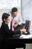 Travail d'équipe d'affaires Images stock