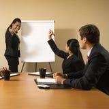 Travail d'équipe d'affaires. Images libres de droits