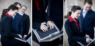 Travail d'équipe d'affaires images libres de droits