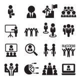 Travail d'équipe d'affaires, formation, séminaire, réunion, conférence, Succe Photos stock