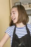 Travail dans la cuisine Photos libres de droits