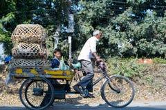 Travail dans Siliguri photos stock