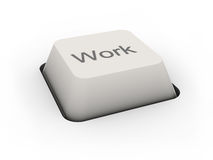 Travail de bouton Image libre de droits