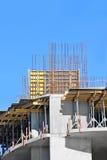 Travail de chantier de construction Photo stock