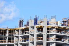 Travail de chantier de construction Image libre de droits