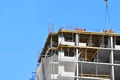 Travail de chantier de construction Photo libre de droits
