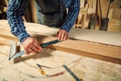 Travail de charpentier photographie stock