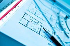 Travail de concept de construction intérieure photo libre de droits