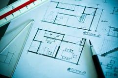 Travail de concept de construction intérieure Photos libres de droits