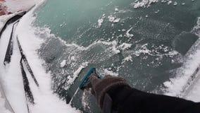 Travail de conducteurs d'hiver Images libres de droits