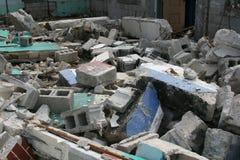 Travail de démolition Photos stock