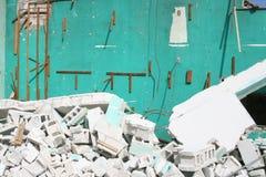 Travail de démolition Photo libre de droits