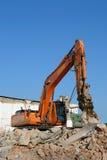 Travail de démolition Images libres de droits