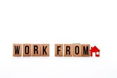 Travail de maison Photo libre de droits