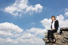 Travail de nuage Image stock