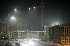 Travail de nuit Photo libre de droits