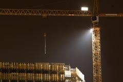 Travail de nuit Images libres de droits