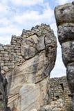 Travail de pierre de Machu Pichu Image libre de droits