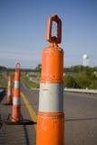 travail de route de pylônes Images libres de droits