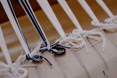 Travail de tissage Photo stock
