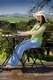 Travail de vacances Images libres de droits