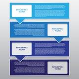 Travail de vecteur, étiquette abstraite de bulle pour la conception et travail créatif Photographie stock