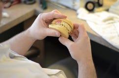 Travail dentaire photo libre de droits