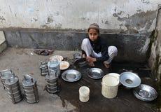 Travail des enfants Photographie stock libre de droits