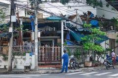 Travail en Asie Photographie stock libre de droits
