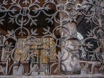 Travail médiéval de fer Images libres de droits