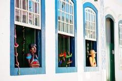 Travail manuel au Brésil Image stock