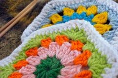 Travail manuel de crochet Images libres de droits