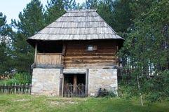 Travail manuel en bois, bâti Zlatibor, Serbie Photographie stock libre de droits