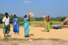 Travail manuel indien Image libre de droits