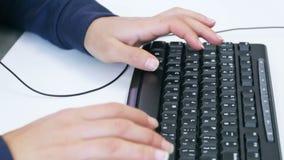 Travail sur le clavier clips vidéos