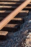 Travailler au chemin de fer photo libre de droits