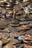 Travailler sur l'économie photos libres de droits
